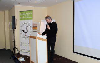Zuchtwart Rainer Redel berichtet über die Ergebnisse der Schausaison 2016/17