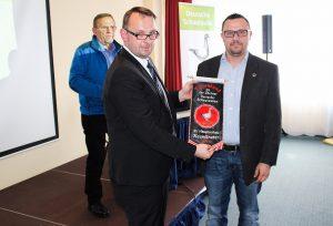 Zuchtfreund Henry Ehricht, Deutscher Meister in gelbfahl mit Binden